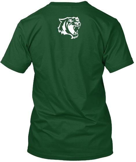 Halum! Tiger T Shirt Deep Forest T-Shirt Back