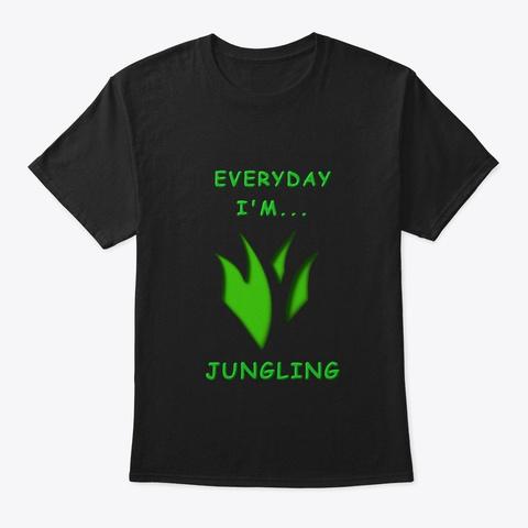 Lol Jungle Everyday Black T-Shirt Front