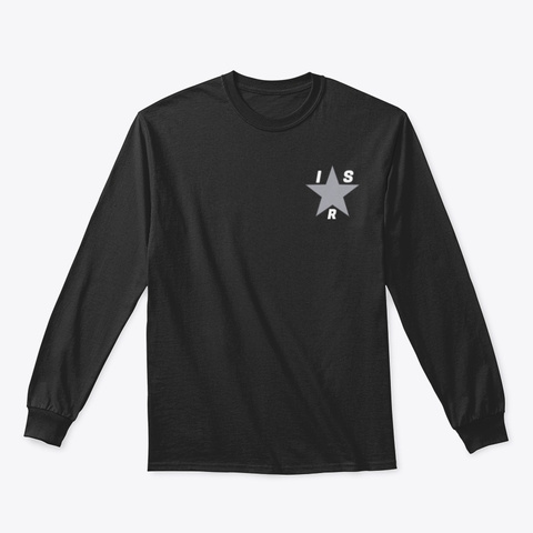 Official Indie Star Radio Long Sleeve Black T-Shirt Front