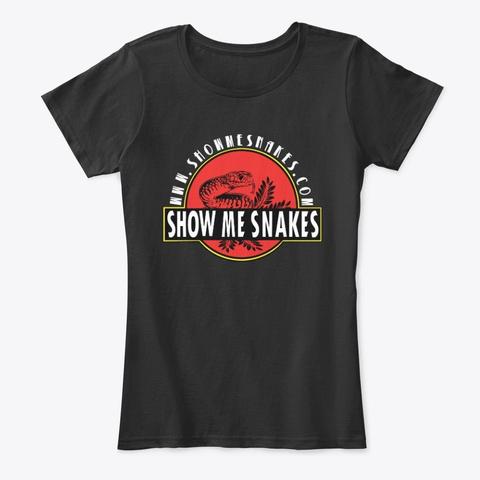 Show Me Snakes 2020  Black T-Shirt Front
