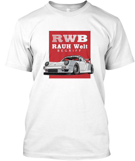 Rauh Welt Begriff W Hite White T-Shirt Front