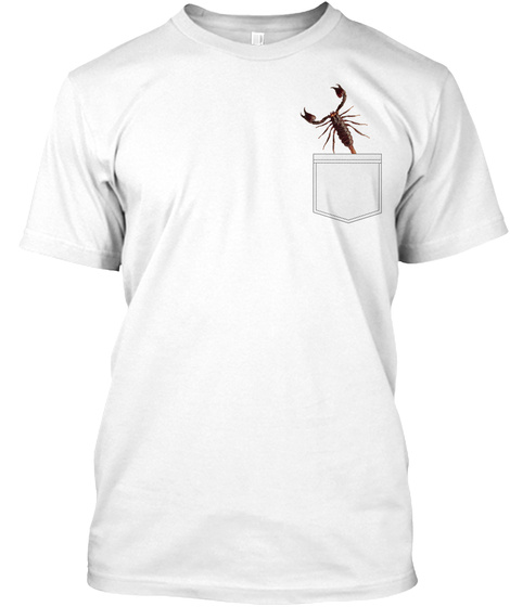 a7c6795e81 Wild Scorpion Lover Funny Pocket T Products from Funny Fake Pocket ...