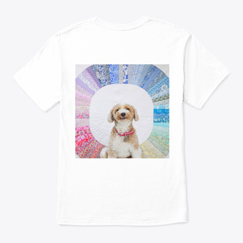 Diane And Liberty Rainbows Apparel White T-Shirt Back
