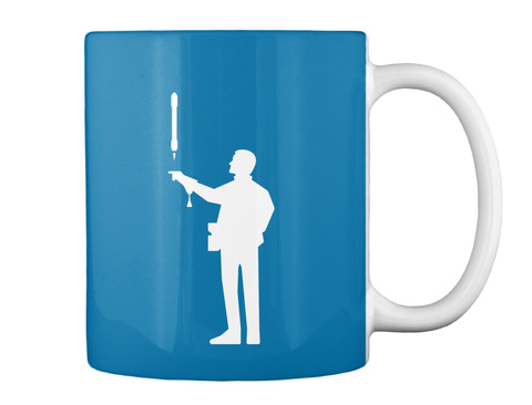 Falconer 3 Man Mug [Int] #Sfsf Royal Blue Mug Back