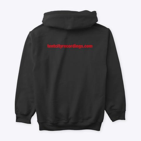 Tent City Recordings/Cares Merch Line Black T-Shirt Back