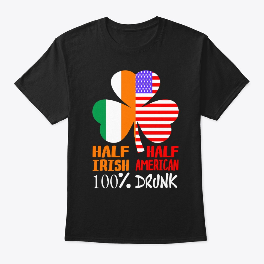 Irish American Drunk St Patricks - Beauty Cheap St Partricks Day Long Sleeve Shirt Design
