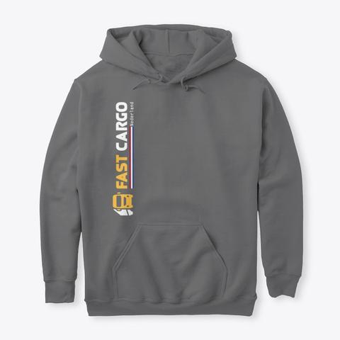 Fast Cargo Nld   Hoodie [Grey] Dark Heather T-Shirt Front