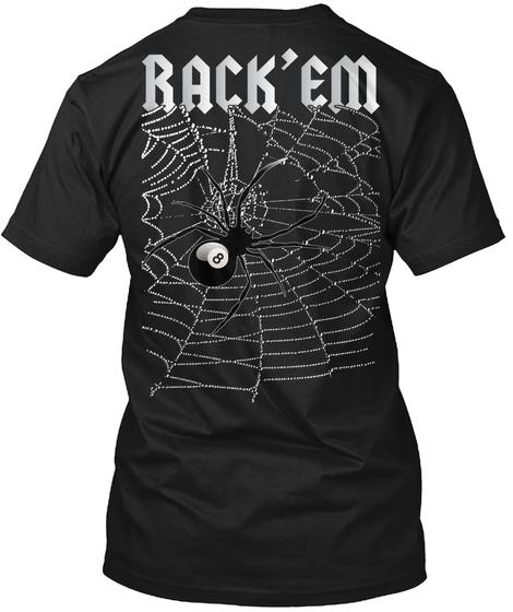 Back'em Black T-Shirt Back