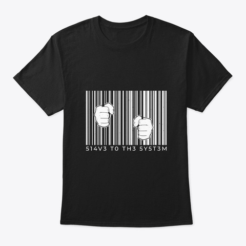 Fighting The System Black T-Shirt Front