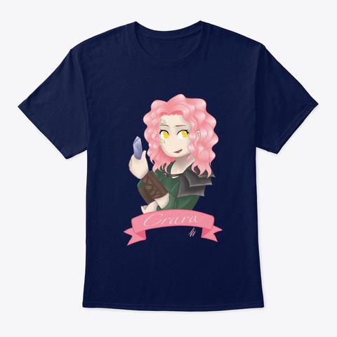 Crara   Human Ranger/Rogue Navy T-Shirt Front