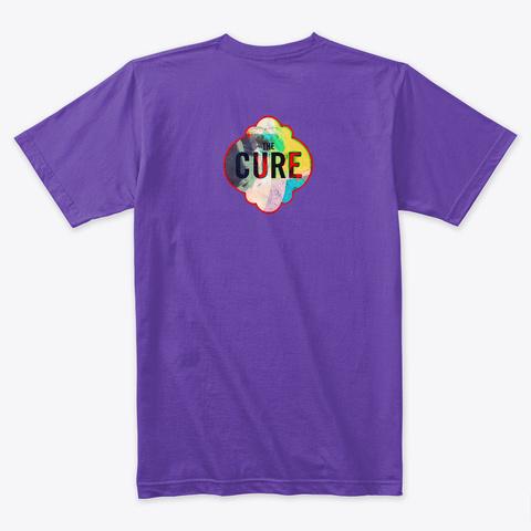 Tribute To The Cure Ii  Purple Rush T-Shirt Back