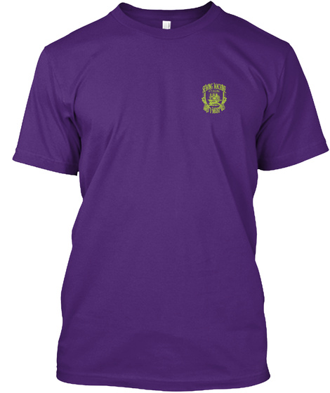 Sewing Machine Is Calling And I Must Go Purple T-Shirt Front