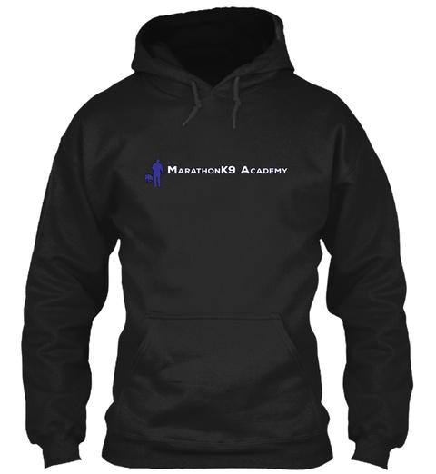Marathon K9 Academy Black T-Shirt Front