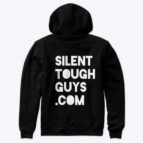 "Premium Stg ""Qt"" Hoodie  Black T-Shirt Back"