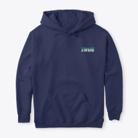 T R U E Hoodie   Navy Navy T-Shirt Front