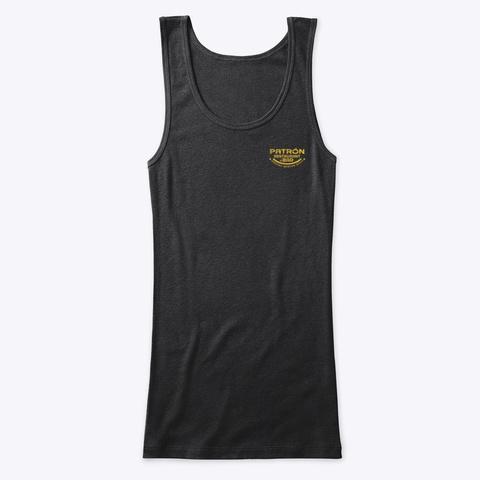 Weston Fiesta. Patron Restaurant Black T-Shirt Front