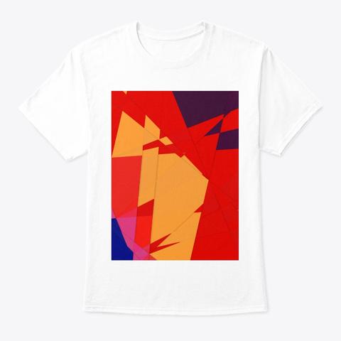 Autumn Lake White T-Shirt Front