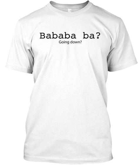 Hoy, Hoy, Hoy, Pinoy! White T-Shirt Front