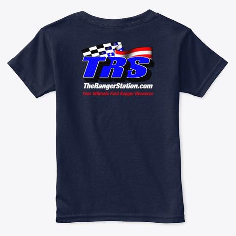 Trs Toddler T Shirt Navy  T-Shirt Back