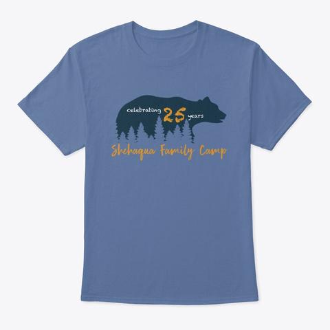 Shehaqua Family Shirt 2019 Denim Blue T-Shirt Front