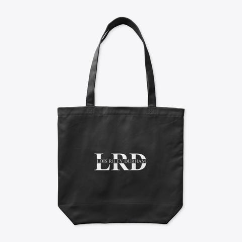 Lrd Logo Tote Black T-Shirt Back