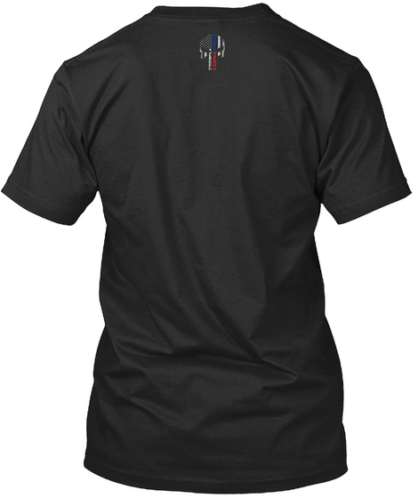 Dallas Strong   Pd And Fd Black T-Shirt Back