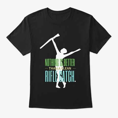 [Color Guard] Clean Rifle Catch Black Camiseta Front