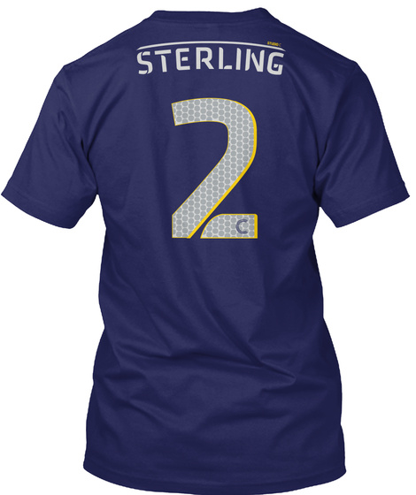 Sterling  2 C T-Shirt Back