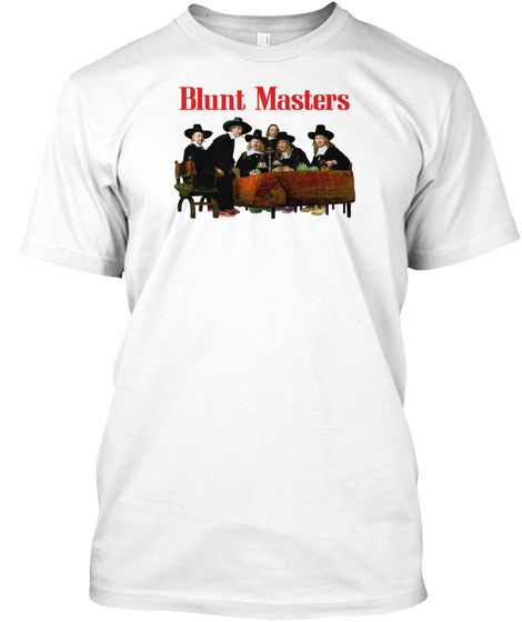 Blunt Masters White T-Shirt Front