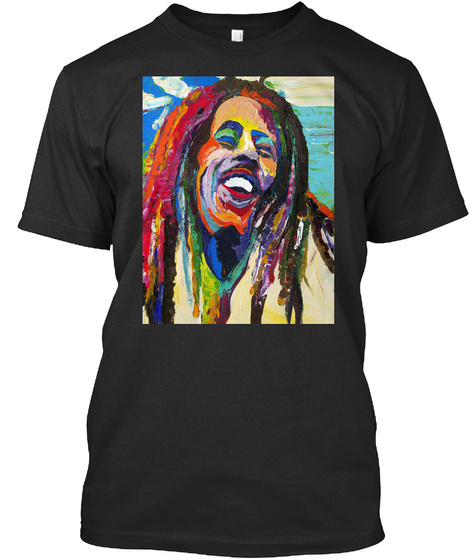 Limited Edition   Dtc   Reggae Black T-Shirt Front