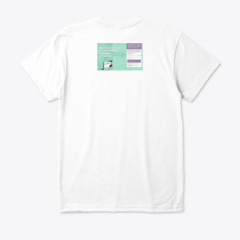Slim Plast Opinie White T-Shirt Back