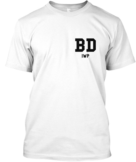 Bd Iwp White T-Shirt Front