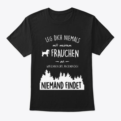 Mein Frauchen Black T-Shirt Front