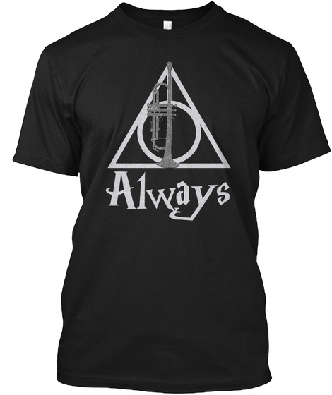 Always Black T-Shirt Front