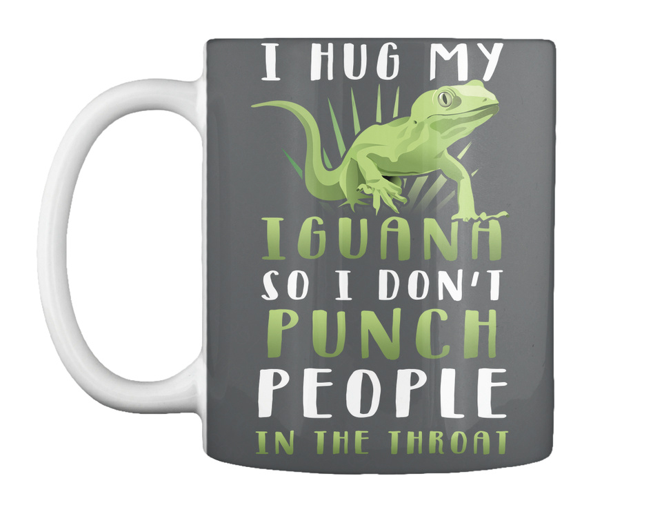 Iguana Punch You in The Throat Womens Vest