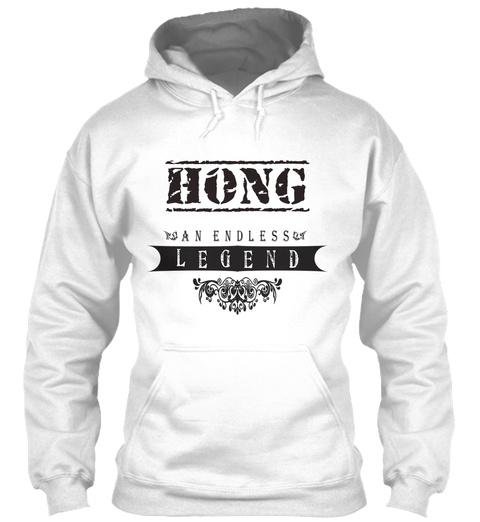 Hong An Endless Legend White T-Shirt Front