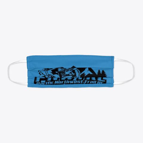 Pnwtrc Covid Dark Denim Blue T-Shirt Flat