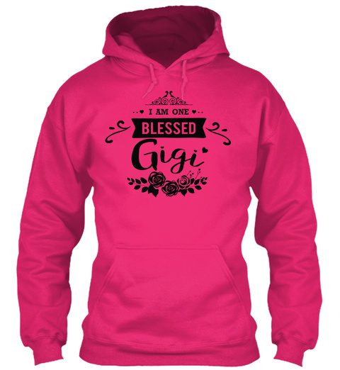 I Am One Blessed Gigi Heliconia T-Shirt Front