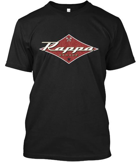 Rappa Hot Rod Garage Black T-Shirt Front