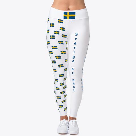 Sverige är Bäst Wm Leggins Ellesson Standard T-Shirt Front