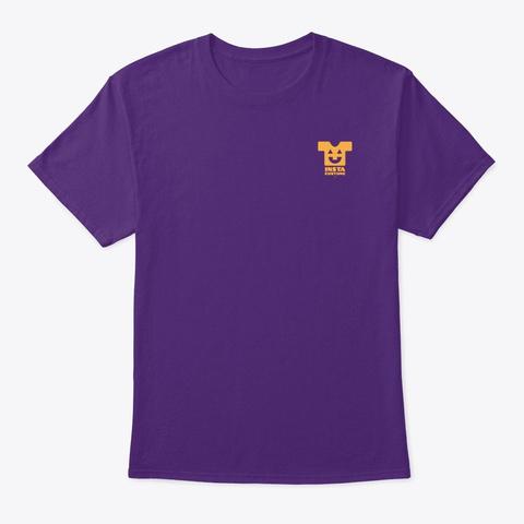Beware Of Mummies!   Style 2 (Ob) Purple T-Shirt Front