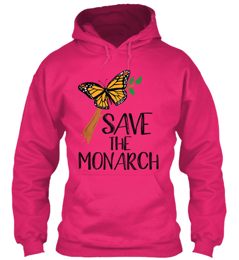Save The Monarch Butterfly! Heliconia Sweatshirt Front