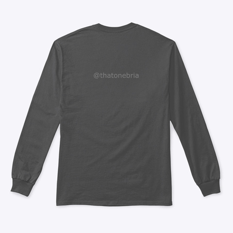 Mmm Collection Charcoal T-Shirt Back