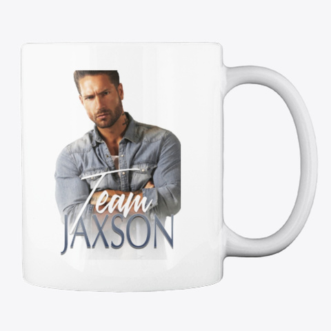 Team Jaxson Mug White T-Shirt Back