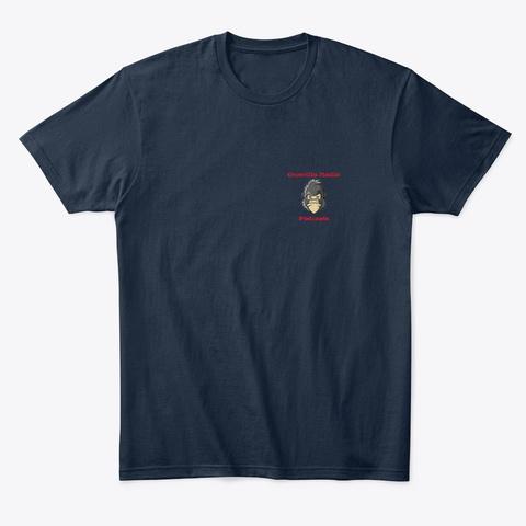 Guerilla Radio Club Tee  New Navy T-Shirt Front