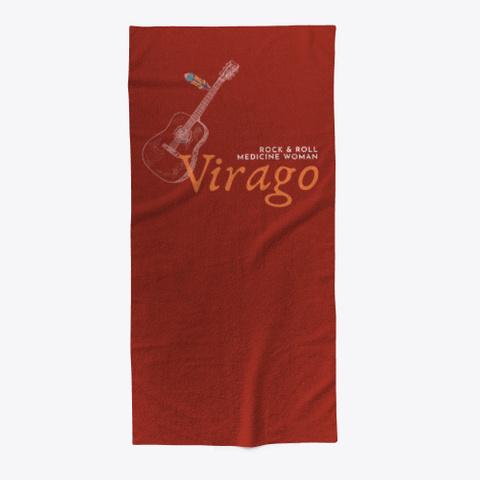 Virago's Shop Dark Red T-Shirt Front