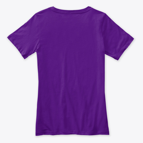 Quilting Shirt Quilter Tshirt Team Purple  T-Shirt Back