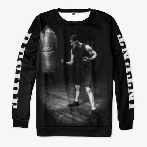 Frisco Boxing | Gentleman Jim Corbett  Black T-Shirt Front