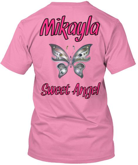 Mikayla Sweet Angel Pink T-Shirt Back
