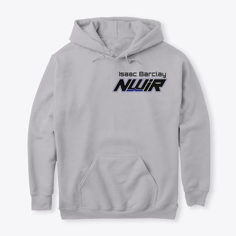 Nwir Isaac Barclay Back Sport Grey T-Shirt Front